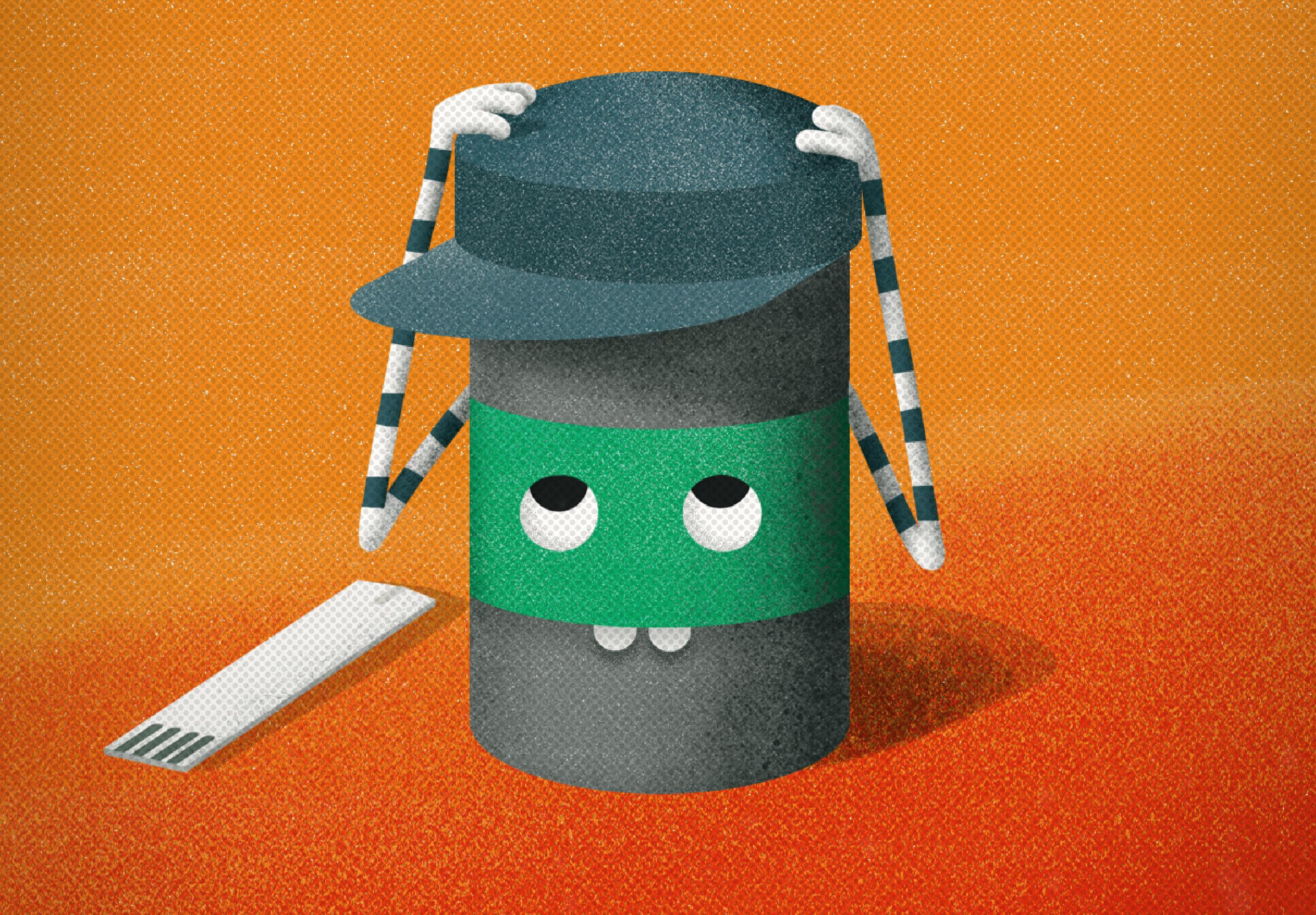 Eine Illustration einer Aufklärungskampagne der Healthcare Werbeagentur mcs mit einer Teststreifendose und einem Teststreifen