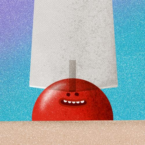 Eine Illustration einer Aufklärungskampagne der Healthcare Werbeagentur mcs