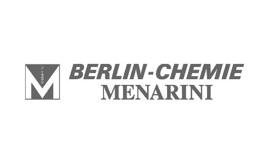 Das Logo des Pharmaunternehmens Berlin Chemie
