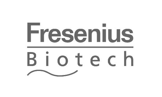 Das Logo von Fresenuis Biotech