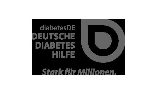 Das Logo des Verbandes der Deutschen Diabetes Hilfe