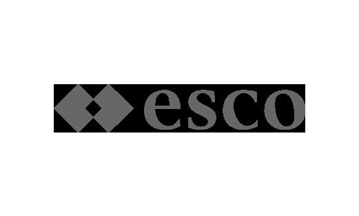Das Logo des Pharmasalzherstellers esco